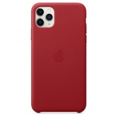 Apple Leather Case для iPhone 11 Pro Max - (PRODUCT)Red