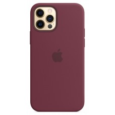 Чохол Apple для iPhone 12/12 Pro Silicone Case with MagSafe Plum (MHL23ZE/A)