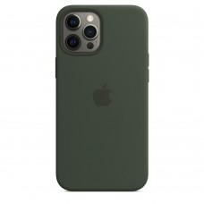 Чохол Apple Silicone Case with MagSafe (Cyprus Green) для iPhone 12 Pro Max ( MHLD3ZM/A )