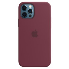 Чохол Apple Silicone Case with MagSafe (Plum) для iPhone 12 Pro Max ( MHLA3ZM/A )