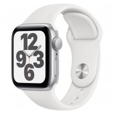 Apple Watch Series SE 40mm Silver with White Sport Band (MYDM2)
