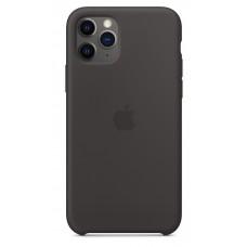 Apple Silicone Case для iPhone 11 Pro Max - Black