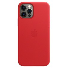 Чохол Apple для iPhone 12/12 Pro Leather Case with MagSafe (PRODUCT) RED (MHKD3ZE/A)