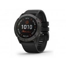 Смарт-часы Garmin Fenix 6X PRO Titanium Carbon Gray DLC with Black Band