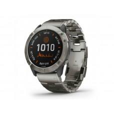 Смарт-часы Garmin Fenix 6X PRO Titanium with Vented Titanium Bracelet