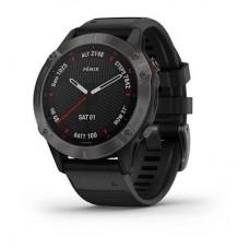Смарт-часы Garmin Fenix 6 Carbon Gray DLC with Black Band