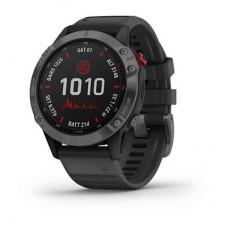 Смарт-часы Garmin Fenix 6 Pro Solar Slate Gray w/ Black Band