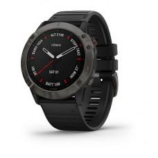 Смарт-годинник Garmin Fenix 6X Carbon Gray DLC with Black Band