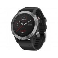 Смарт-часы Garmin Fenix 6 Silver with Black Band