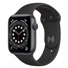 Apple Watch SE GPS + Cellular 40mm Space Gray Aluminum Case with Charcoal Sport Loop (MYEE2/MYEL2)